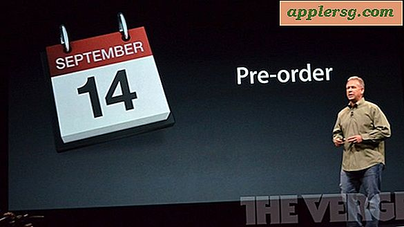 iPhone 5 Pre-Orders Start 14 september for udgivelsesdato 21 september
