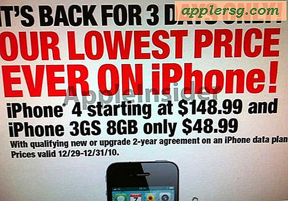 iPhone 4 tilbakebetalt til $ 149 som iPhone salg returnerer til RadioShack