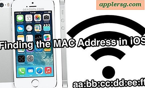 Find iPhone MAC-adressen