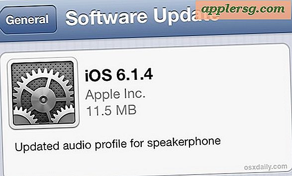 iOS 6.1.4 Udgivet til iPhone 5 [IPSW Download Links]