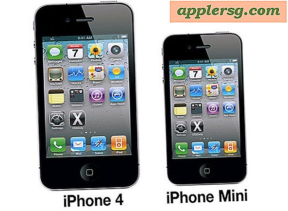 iPhone Mini?  Apple jobber med mindre og billigere iPhone