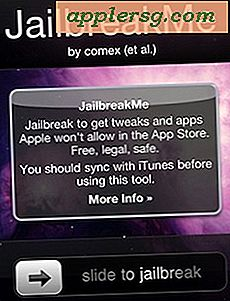 Jailbreak iPhone facile avec JailbreakMe