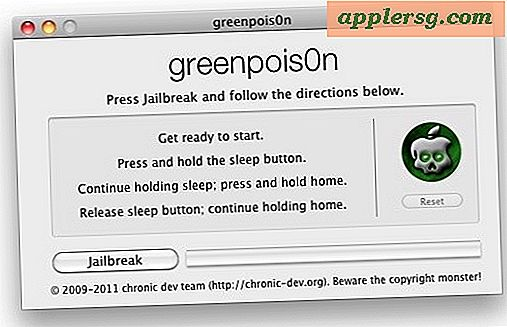Come eseguire il jailbreak di iOS 4.2.1 Untethered con GreenPois0n 1.0 RC5