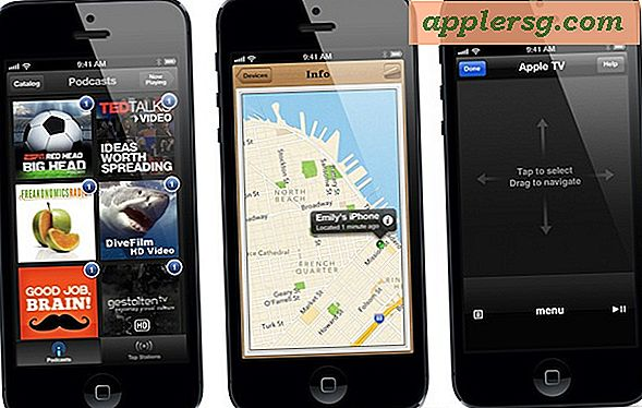 "iPhone 5 med 4 ""Display & LTE lanserad"