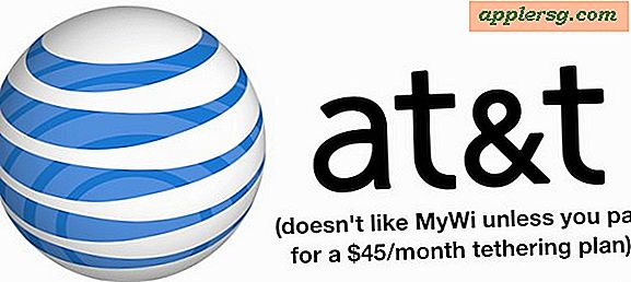 AT & T Cracking Down på Uofficielle iPhone Tethering & MyWi Brugere