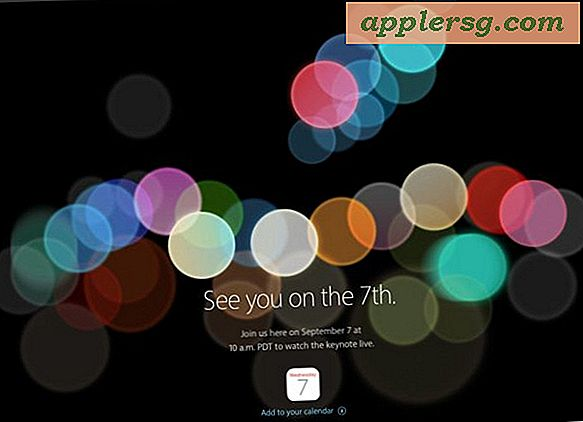 Apple Event Set til September 7, iPhone 7 sandsynligvis at debutere