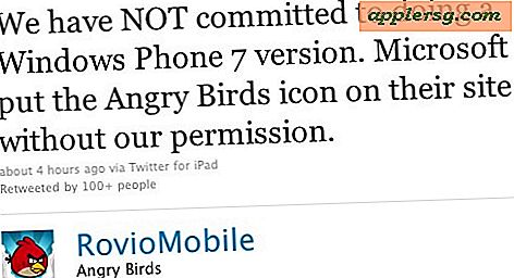 Microsoft fügt Angry Birds zu Windows Phone 7 hinzu, sagt Angry Birds-Entwickler WTF