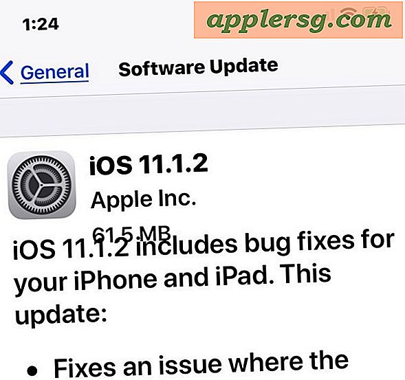 Download iOS 11.1.2 Update med fejlrettelser til iPhone X [IPSW Links]