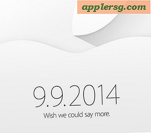 Apple begivenhed officielt planlagt til september 9th, iPhone 6 forventes