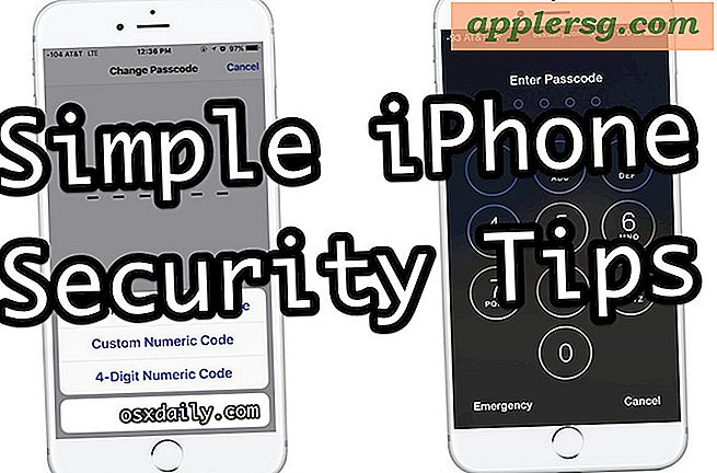 8 enkle iPhone Security Tips