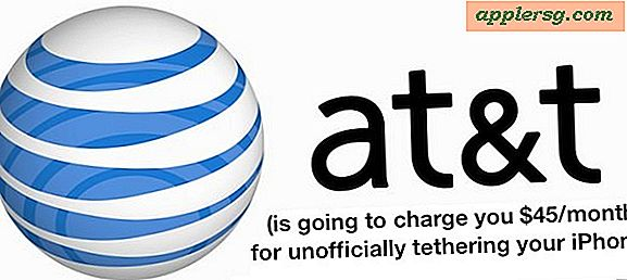 AT & T Auto-opdatering Uautoriserede iPhone Tethering Konti til Betalt Tether Planer
