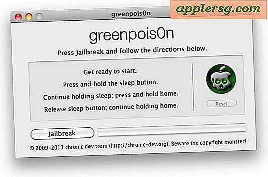 GreenPois0n Untethered Jailbreak pour iOS 4.2.1 Télécharger Disponible