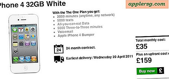 Witte iPhone 4-release op 20 april?