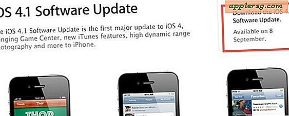 iOS 4.1 Releasedatum is 8 september
