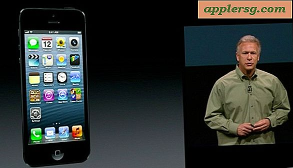 Bekijk de Keynote van iPhone 5 [Video]