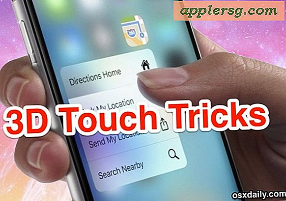 8 iPhone 3D Touch Tricks, der er faktisk nyttige