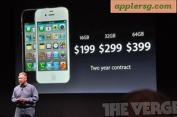 iPhone 4S Pricing: 16 GB ist $ 199, 32 GB ist 299 $, 64 GB ist 399 $