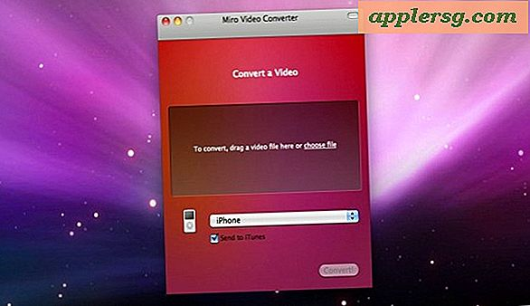 Har du brug for en gratis video til iPhone Converter?  Få Miro Video Converter