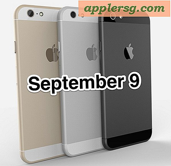 iPhone 6 Lanseringsdato: 9. september
