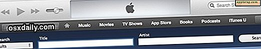 Usa Power Search in iTunes 11 con un trucco URL