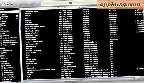 Reskin iTunes 10 med High Constrast Mode