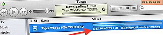 Controleer de downloadsnelheid van iTunes & de App Store