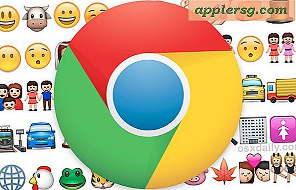 Tag Emoji Support til Google Chrome Web Browser med Chromoji