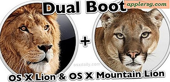 Sådan Dual Boot OS X 10.7 Lion og OS X 10.8 Mountain Lion
