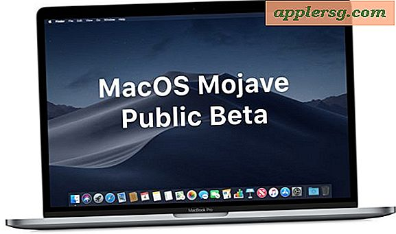 Comment installer la version bêta publique de MacOS Mojave