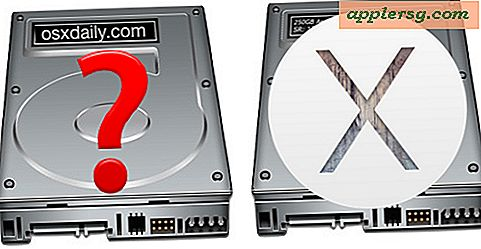 Fast i Yosemite med OS X Installer Drive og en Manglende OS X Mavericks Partition?  Her er Fix