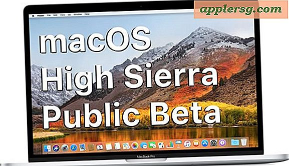 Last ned og installer MacOS High Sierra Public Beta nå