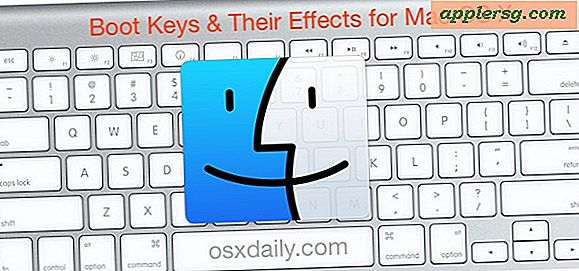 Boot Keys for Mac OS X System Start