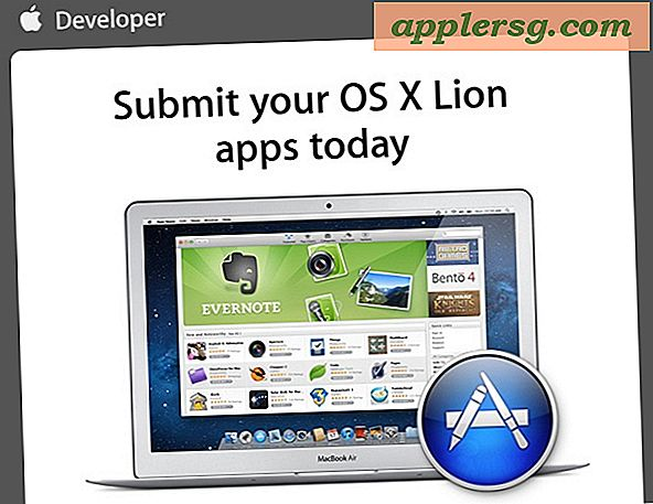 "OS X Lion ""Will Soon Be Available"" ในขณะที่ Apple ขอให้ Devs ส่ง Lion Apps"