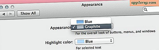 Mac OS X Lion Dev Preview 2 Tilføjer Graphite Appearance Option Again