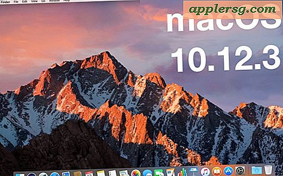 MacOS Sierra 10.12.3 Update Released