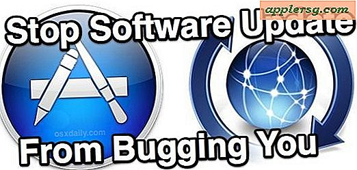Stop softwareopdatering fra at bugge dig i Mac OS X
