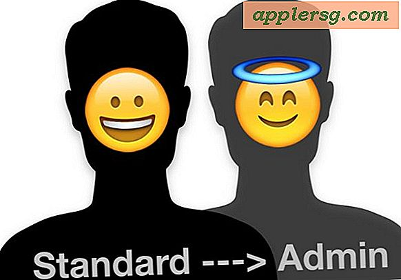 Zet Standard in beheerdersaccount in Mac OS X