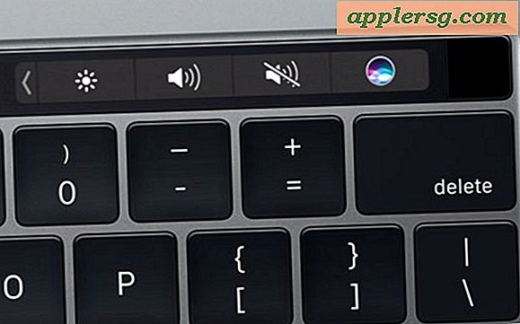 Så här tar du bort Touch Bar Data från MacBook Pro med Touch Bar