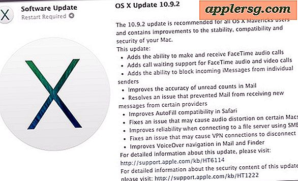 OS X 10.9.2 Update: Fix for Mail Problemer, SSL Security Error, og mere