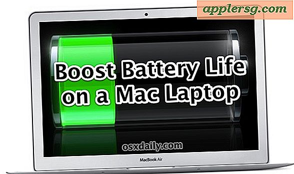 11 tips for å få det beste batterilevetiden på en Mac-bærbar PC