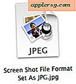 Skift Screen Shot File Format i Mac OS X
