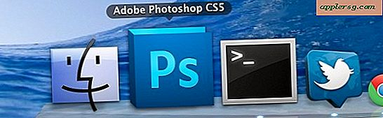 Dela Adobe Photoshop mellan Mac OS X 10.7 Lion & 10.6 Snow Leopard