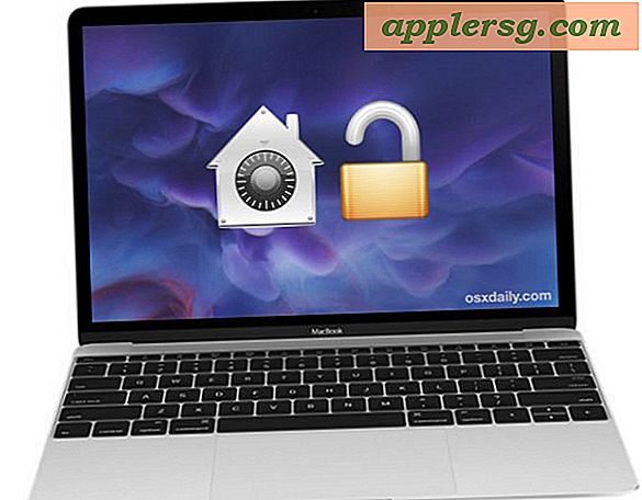 Deaktiverer FileVault for å dekryptere Mac-harddisker