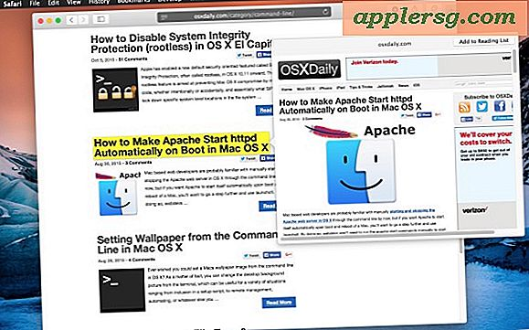 Forhåndsvis websidekoblinger i Safari for Mac med et multitouch-trykktrick