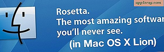 Mac OS X Lion Drops Rosetta Support til PowerPC Apps