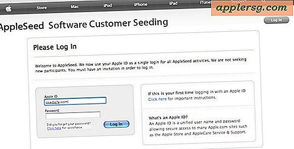 AppleSeed Invits Välj Apple-kunder att testa Mac OS X Lion