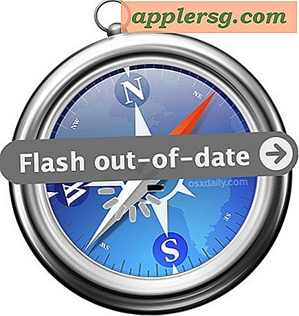 "Se ett meddelande ""Flash out-of-date"" i Safari på Mac?  Så här fixar du det"