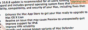 Mac OS X 10.6.8 til at fjerne MacDefender Malware og Klar Mac'er til Lion Upgrade