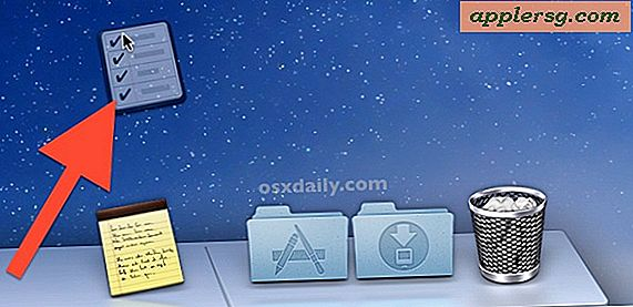 Hoe Dock-pictogrammen te verwijderen in OS X Mountain Lion & Mavericks