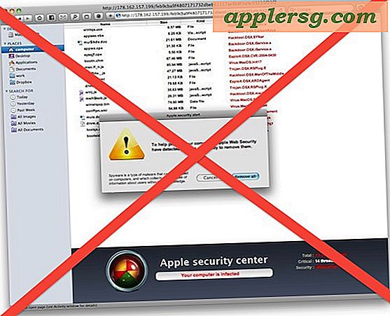 Mac OS X for at få anti-malware opdatering snart til at henvende MacDefender Scam
